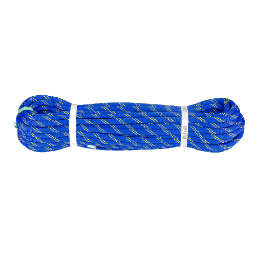 10.5MM STATIC ROPE BLUE for climbing, rope courses, zipline and more outdoor adventures