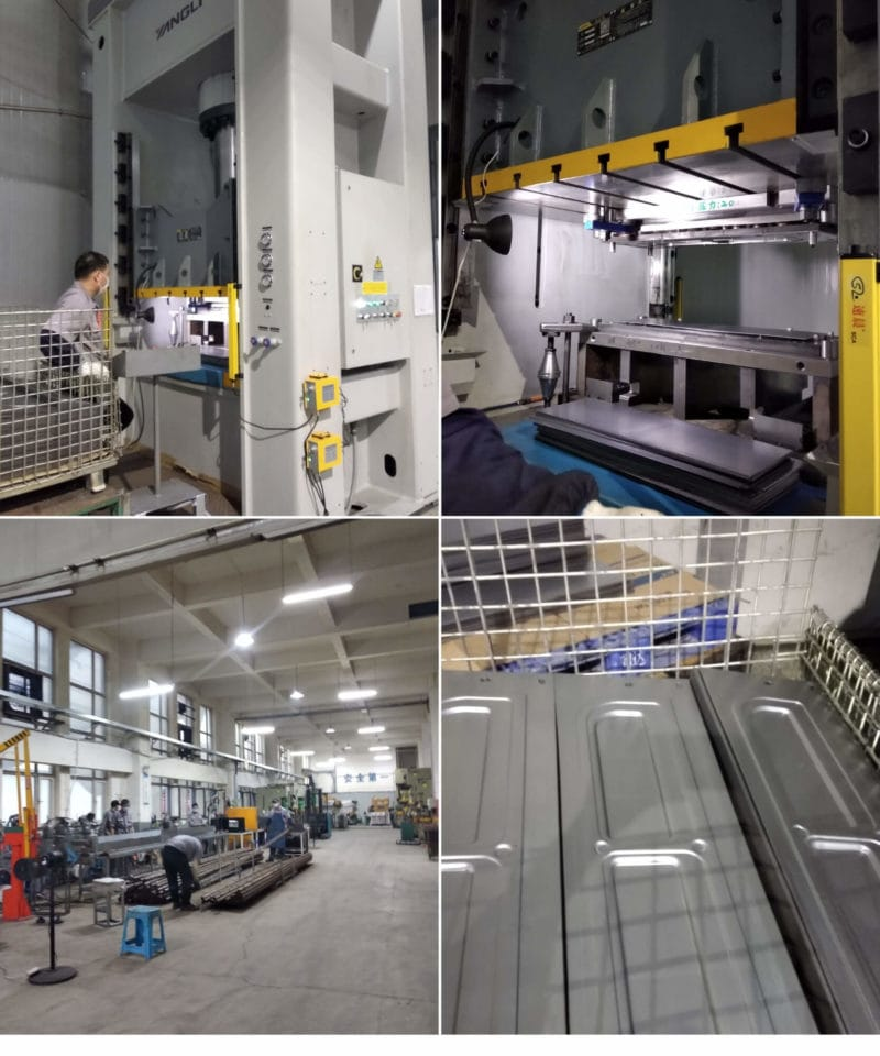 250Tons Stamping_Q345 Steel Trolley production
