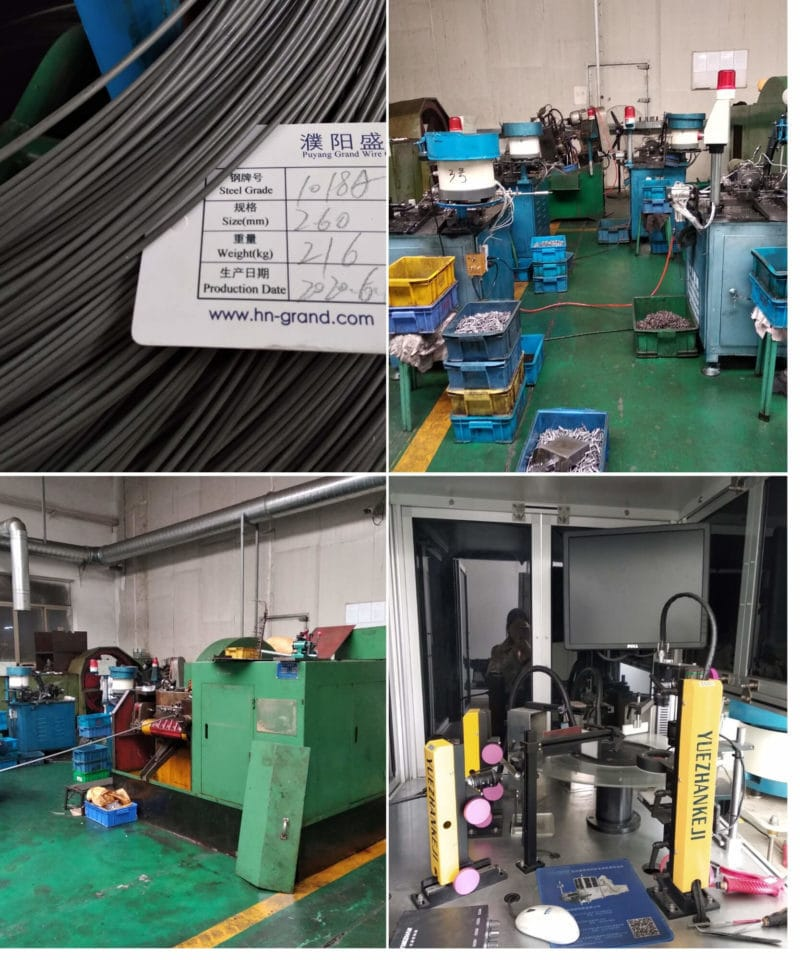 Hardware production line_Cold heading.