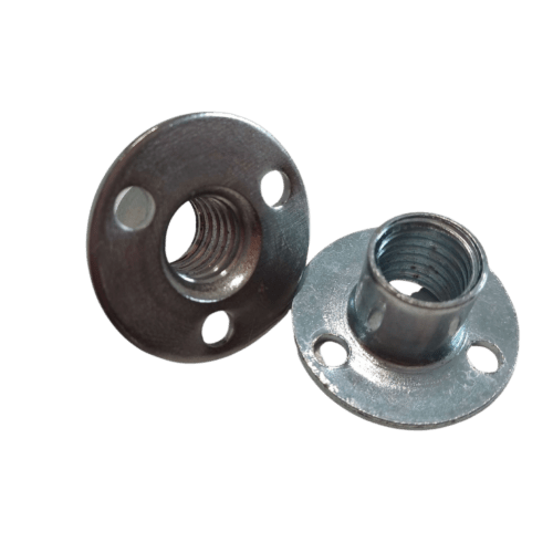 Round Base Screw in type climbing wall T-Nuts