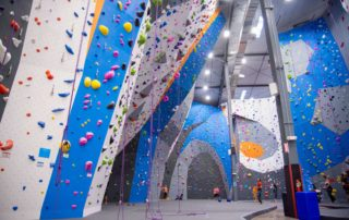 Artificial Climbing Wall feature and Structure in a climbing gym_RMC