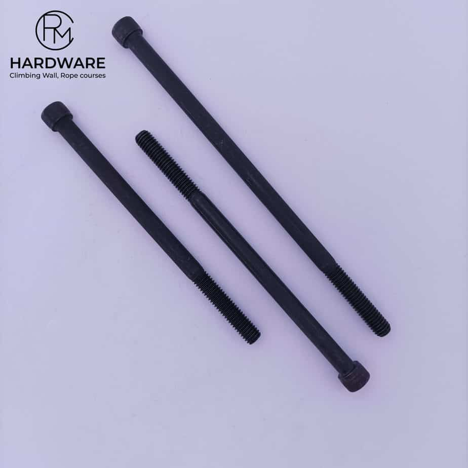 """Strongest 3/8""""-16 Bolts for climbing wall building"""